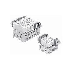 SMC  汇流板  SY系列电磁阀直接配管型 41型42型 S1系列汇流板  SY系列电磁阀直接配管型 41型42型