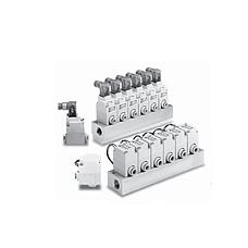 SMC  VQ20·30 系列 干燥空气用先导式2通电磁阀 单体 VQ20·30 系列
