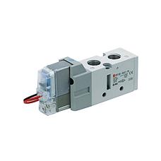 SMC  二位五通电磁阀 VF系列电磁阀