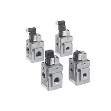 SMC  VG342 系列 3通电磁阀/先导式座阀 弹性密封 VG342 系列