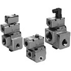 SMC  VP3145·3165·3185 系列 弹性密封 大型3通电磁阀 直接配管型/单线圈