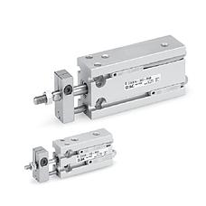SMC  自由安装型气缸 杆不回转型 CUK系列 UK系列自由安装型气缸 杆不回转型 CUK系列