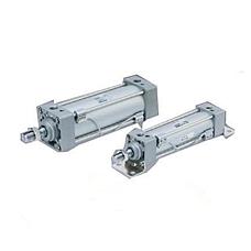 SMC  带四拉杆标准气缸 MB系列四拉杆双作用气缸