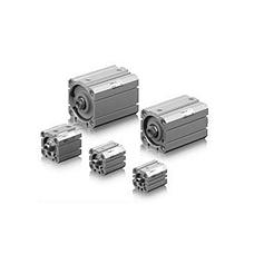 SMC  薄型气缸 CQ2系列薄型双作用气缸