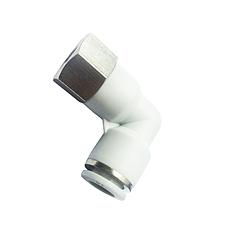 HOP  快插式气动管接头 内螺纹联管直角弯头 HPLF系列
