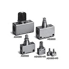SMC  标准型速度控制阀 A2系列标准型速度控制阀