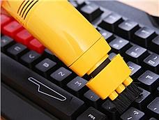 其他 (Other) 迷你USB键盘笔记本手持吸尘器